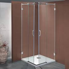 box doccia cristallo 80x80 box doccia scorrevole bapu da 80x80 cm in cristallo 8 mm