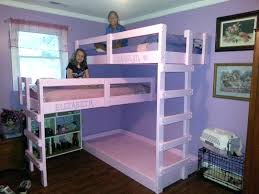 Three Tier Bunk Bed 3 Tier Bunk Bed Bunk Bed 3 Tier Bunk Beds White Ed Ex Me