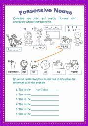 english teaching worksheets possessive nouns