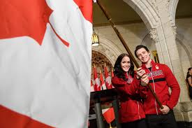 Canada Flag Bearer The Ex Press20 Canadian Athletes To Watch At The 2018 Olympics In