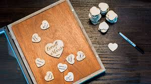 Wedding Photo Box Create A Wedding Guestbook Shadow Box With Your Laser