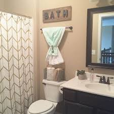Curtain Wire Target My Kids Bathroom Is Perfectly Small With Just Enough Room For The