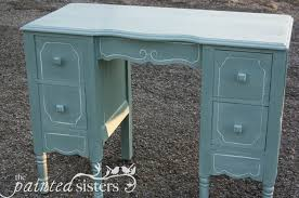 Blue Vanity Table For Sale