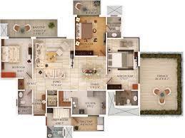 3bhk with terrace 2310 jpg 4000 3000 landscape plan pinterest