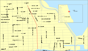 chicago map streets chicago