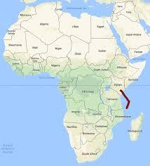 Tanzania Map Tanzania Travelingdude