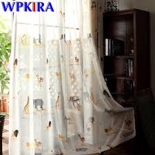 vintage bedroom curtains vintage forest printed curtain semi shade curtain faux cotton cloth