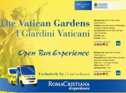 biglietti giardini vaticani l esperienza della visita ai giardini vaticani oltre le colonne