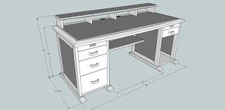 Woodworking Plans Computer Desk Build It Yourself Computer Desk Plans Therobotechpage