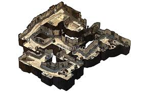 dust map dust 2 isometric csgo map posters by naamiko redbubble