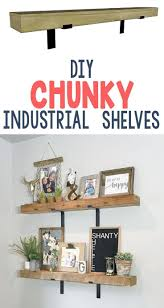 3203 best diy home decor images on pinterest home kitchen and diy industrial shelves home decor diydecor farmhouse rustic signs homedecor