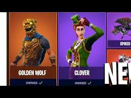 golden wolf skin and more coming to fortnite