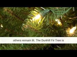 dunhill fir artificial hinged tree overview and review