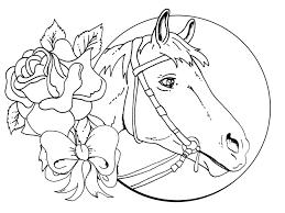 horses print color horses print color free