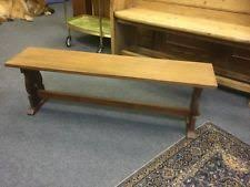 oak benches ebay