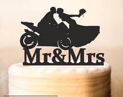 motorcycle cake etsy