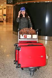 meghan markle toronto address bailee madison at pearson international airport in toronto 11 02