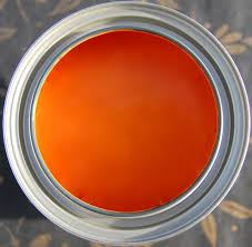 shades of amber chalk paint color theory barcelona orange