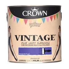 vintage paint collection from crown red online