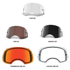 tear off goggles motocross oakley replacement tear offs lenses and accessories for airbrake