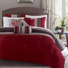 red and brown bedroom ideas pretty and yes i do have a red comforter but i have green multi