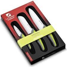 couteau cuisine ceramique coffret 3 couteaux de cuisine office chef santoku lames céramique