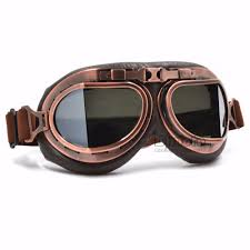 colorful lenses classic scooter motocross online shop vintage helmet motocross goggles clear steampunk