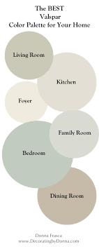 valspar virtual painter the best valspar color palette for your home decorating by donna