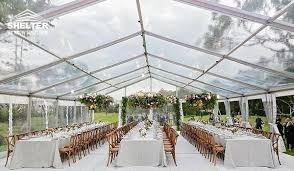 clear wedding tent 12 24m clear roof tent sale for catering birthday kidz event