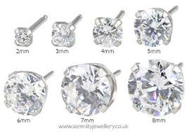 sensitive earrings hypoallergenic studex sensitive surgical steel cubic zirconia