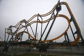 Batman Roller Coaster Six Flags Texas Wanderbat U0027s Scariest Roller Coasters In The U S Houston Chronicle