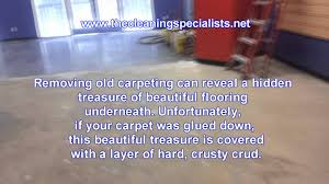 how to get carpet adhesive cement floor meze