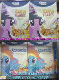Corn Flakes Meme - dash o s is best cereal my little pony friendship is magic know