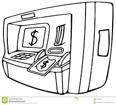 coloring pages of money