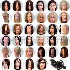 new style 70 real human hair training hairdressing head mannequin