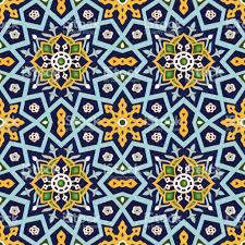 Pattern Ottoman Ornamental Seamless Pattern Vector Geometrical Islamic Ottoman