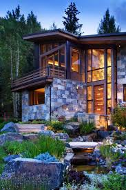 mountain home exteriors unusual rustic modern homes exterior about mod 4067 homedessign com