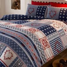Brushed Cotton Duvet Covers Nordic Brushed Cotton Duvet Set Duvet Sets Bedding