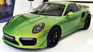 porsch 911 turbo there s an ultra limited 97 000 paint option available for the