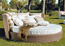 outdoor daybed u2013 elegant patio furniture for a pleasant relax