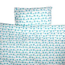 Toddler Cot Bed Duvet Set Turquoise Elephant Toddler Cot Bed Duvet Set By Lulu And Nat