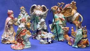 fitz and floyd nativity treasures collection fitz floyd johayden