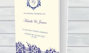 Wedding Booklets Weddings U2013 Kelly Richards Printing