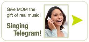 singing telegram sacramento voices of california other ways to give