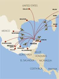 Mexico City Airport Map by How To Get To Merida