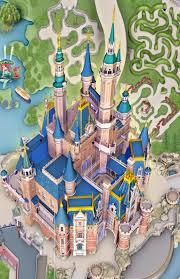 Disney Map Photos A Look At The Enchanted Storybook Castle Construction At