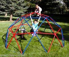 dome climber outdoor play equipment kids geometric climbing