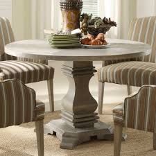 coaster shoemaker crossing pedestal dining table with glass top in