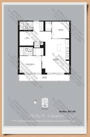 The O2 Floor Plan by Neon Condos Home Leader Realty Inc Maziar Moini Broker