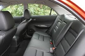 2004 mazda 6i sedan rear seats picture pic image